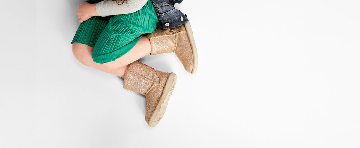 Classic II Short Glitter Boot - Lifestyle image 1 of 1