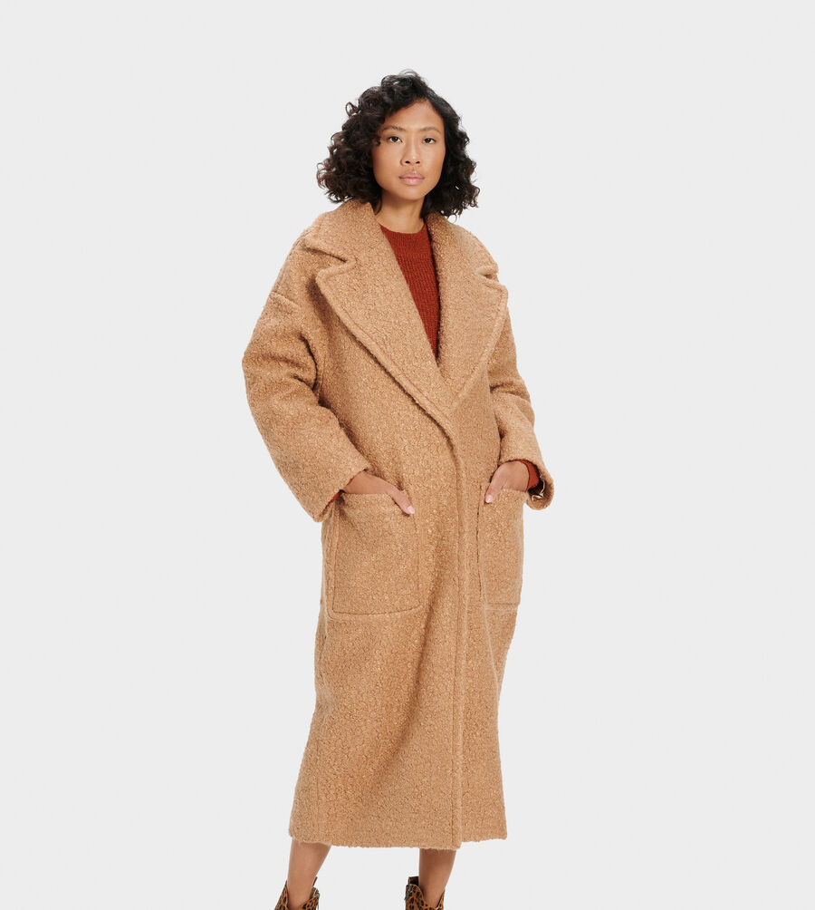 Hattie Long Oversized Coat - Image 2 of 4