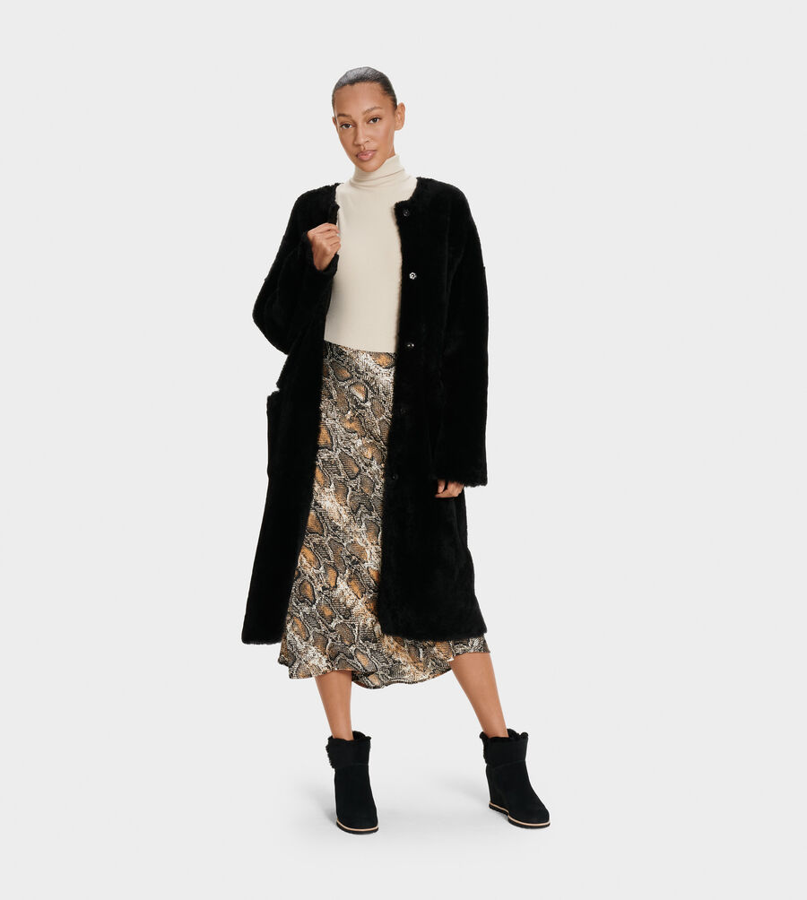 Remy Reversible Shearling Coat - Image 4 of 6