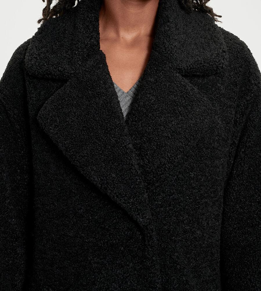 Charlisse Teddy Bear Coat - Image 4 of 6