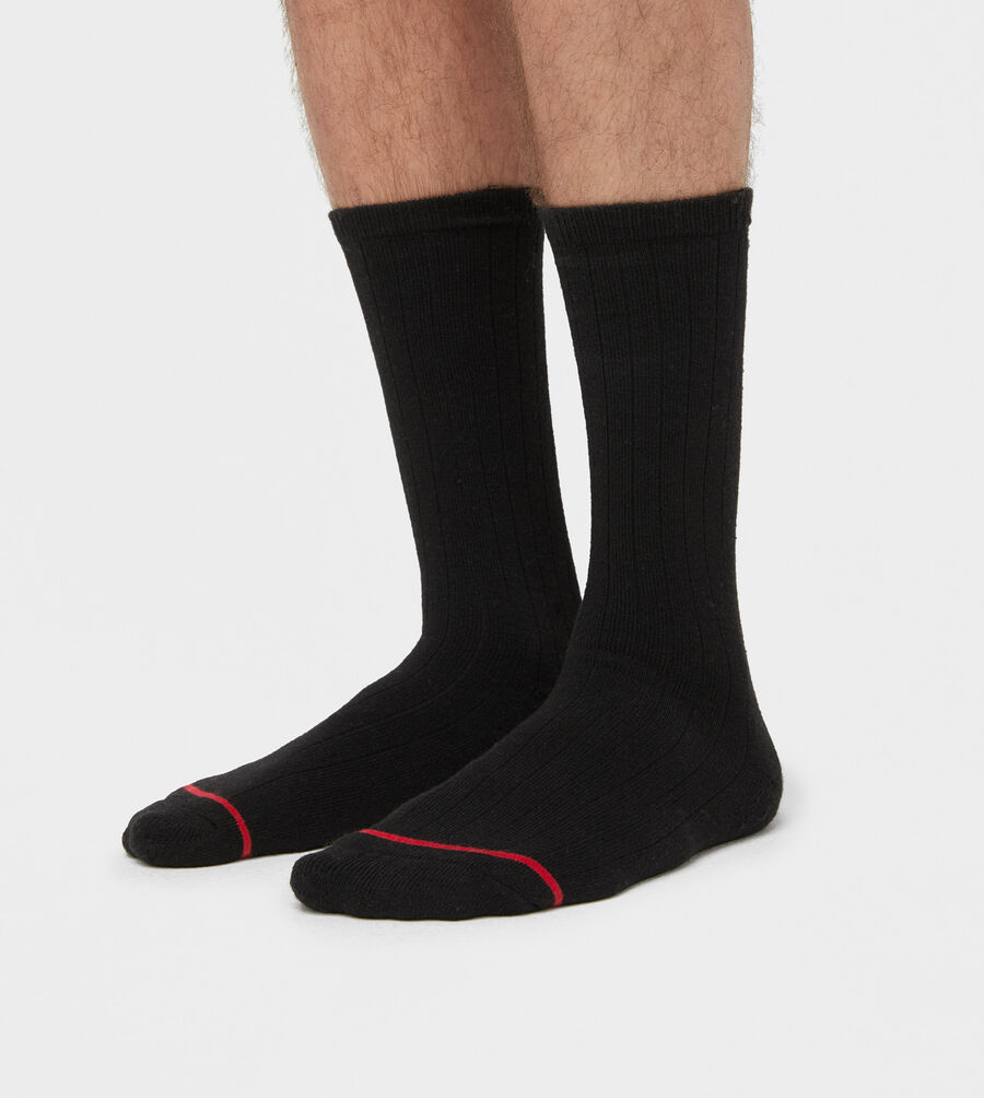 Classic Ribbed Crew Sock - Image 2 of 3