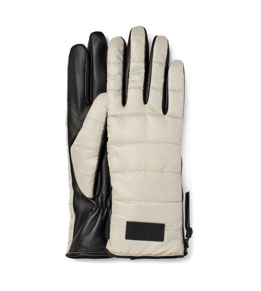Sherpa Fabric Glove W/ Zipper