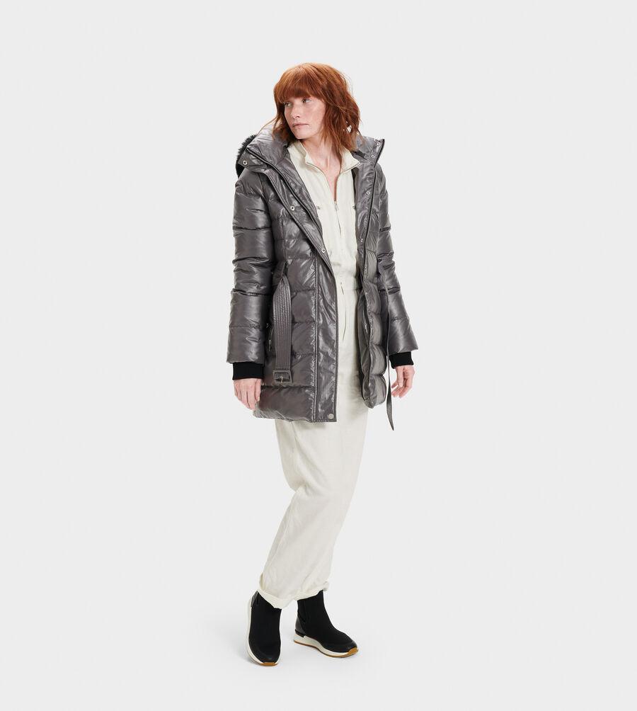 Valerie Belted Down Coat II - Image 5 of 5