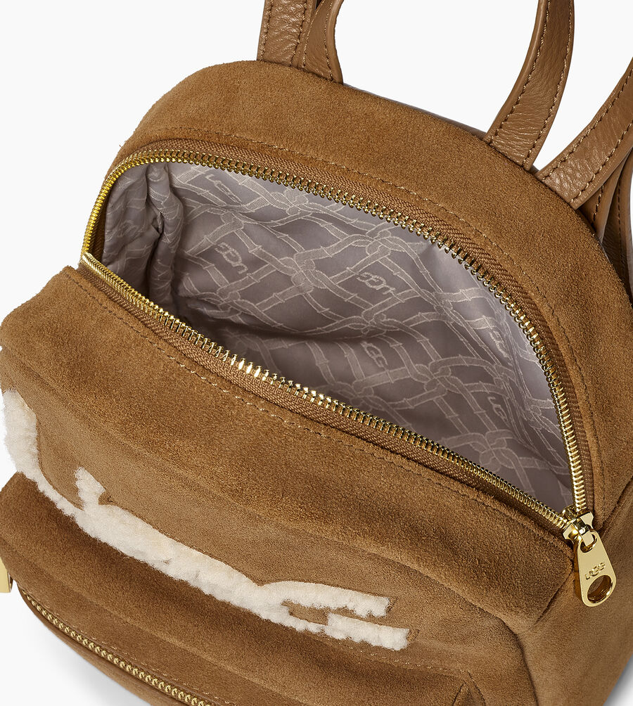 Dannie Mini Backpack Sheepskin - Image 4 of 5