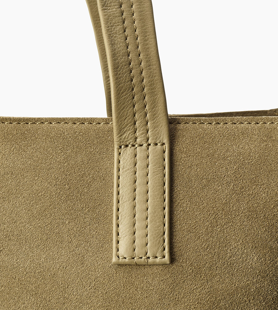 Alina Suede Tote - Image 6 of 6