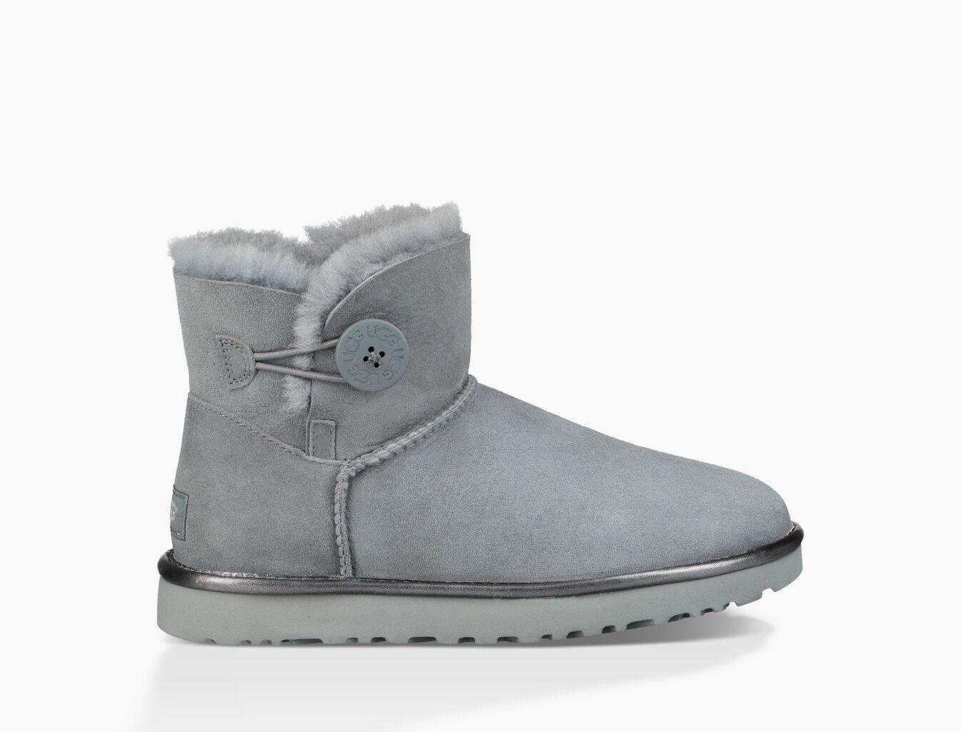 women s mini bailey button ii metallic boot ugg official ugg com rh ugg com