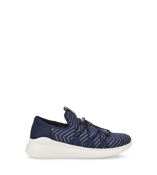 UGG Kinney Metallic Sneaker Knit In Navy, Size 9.5