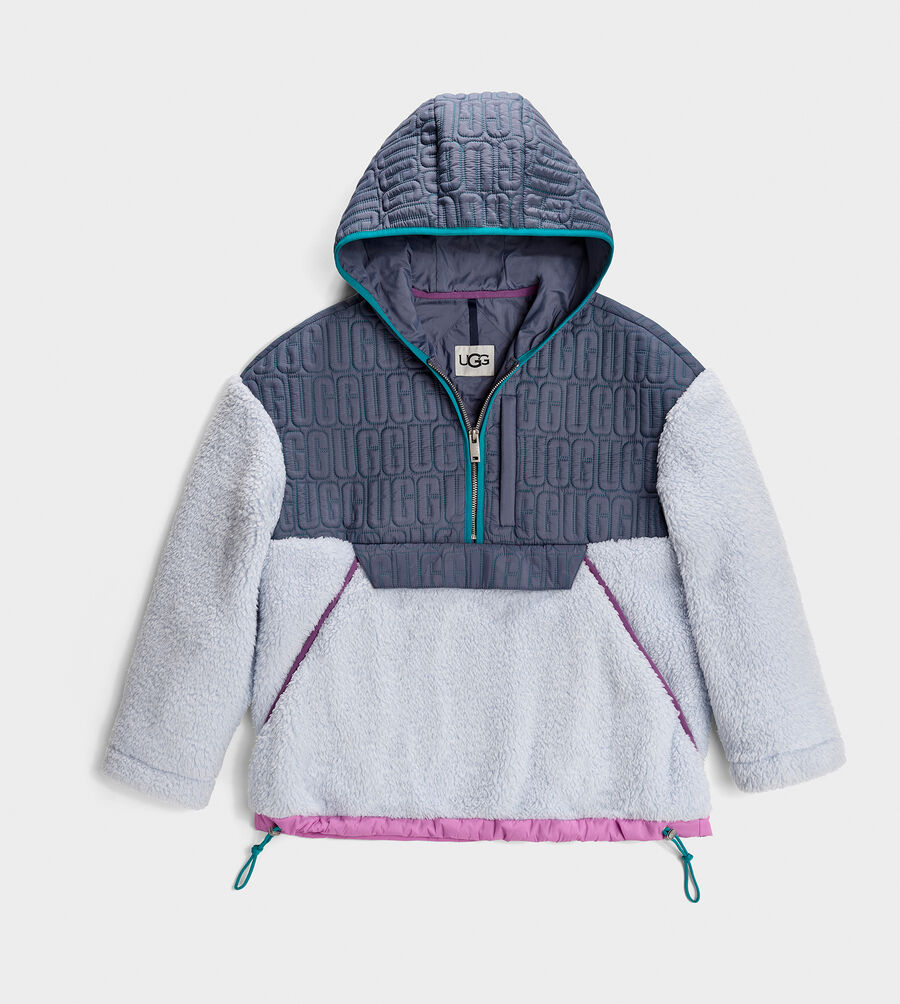 Iggy Sherpa Half Zip Pullover - Image 1 of 1