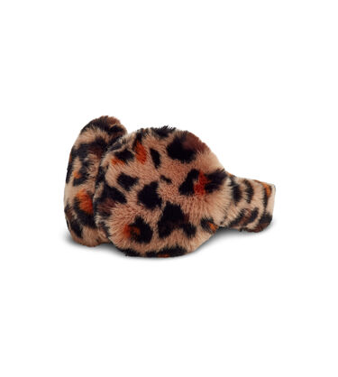 Faux Fur Leopard Earmuff Alternative View