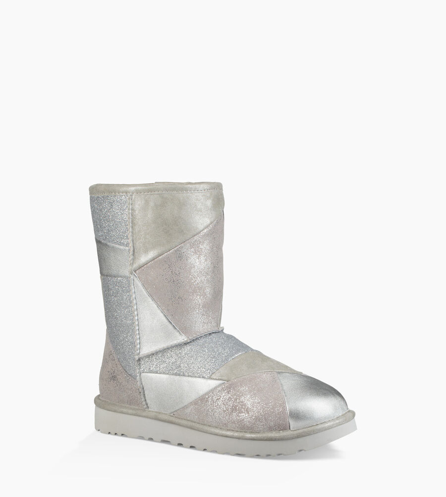 Classic Glitter Patchwork Boot - Image 2 of 6