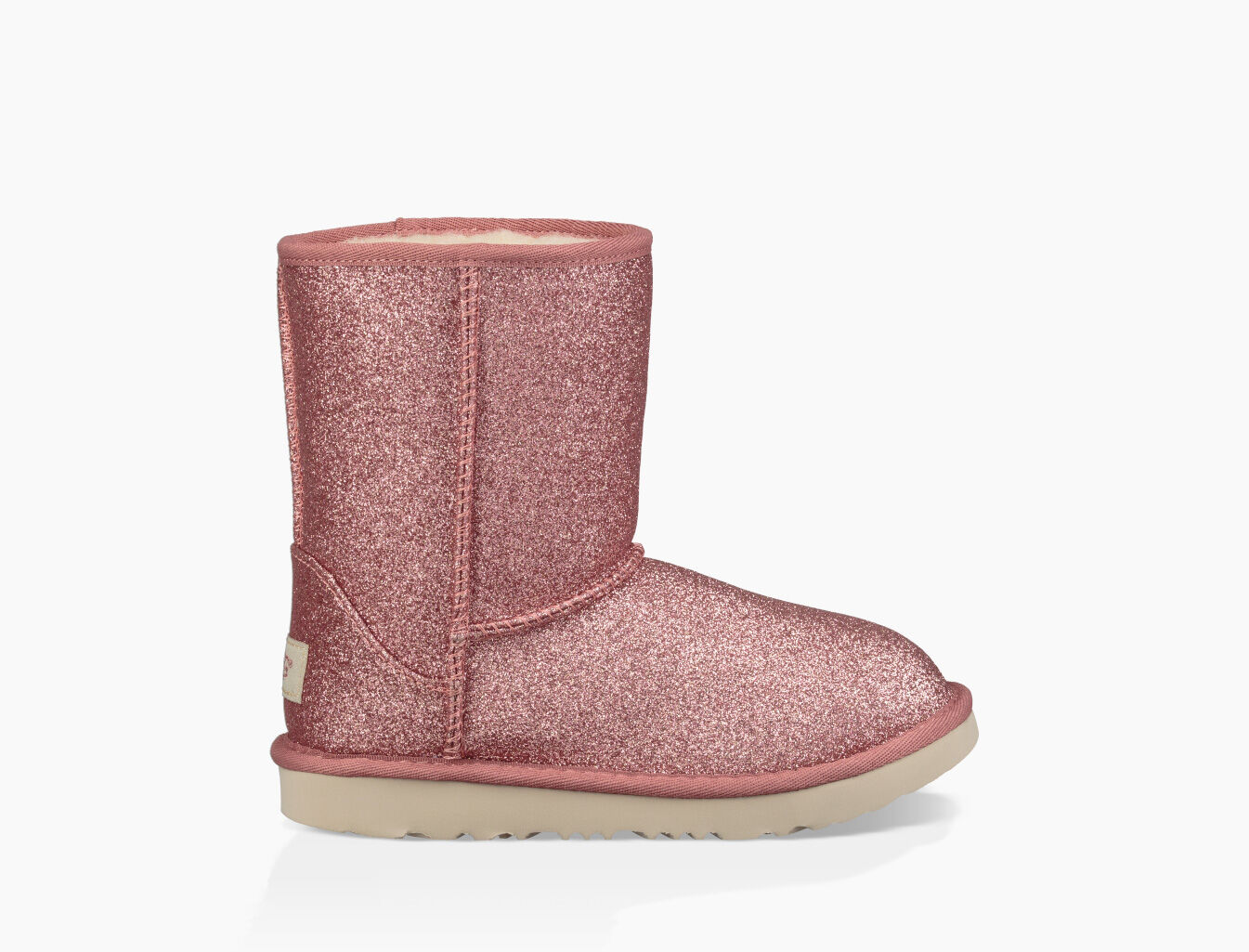 pink ugg glitter boots
