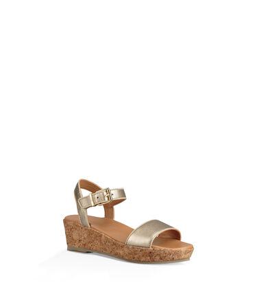 Milley Metallic Sandal Alternative View
