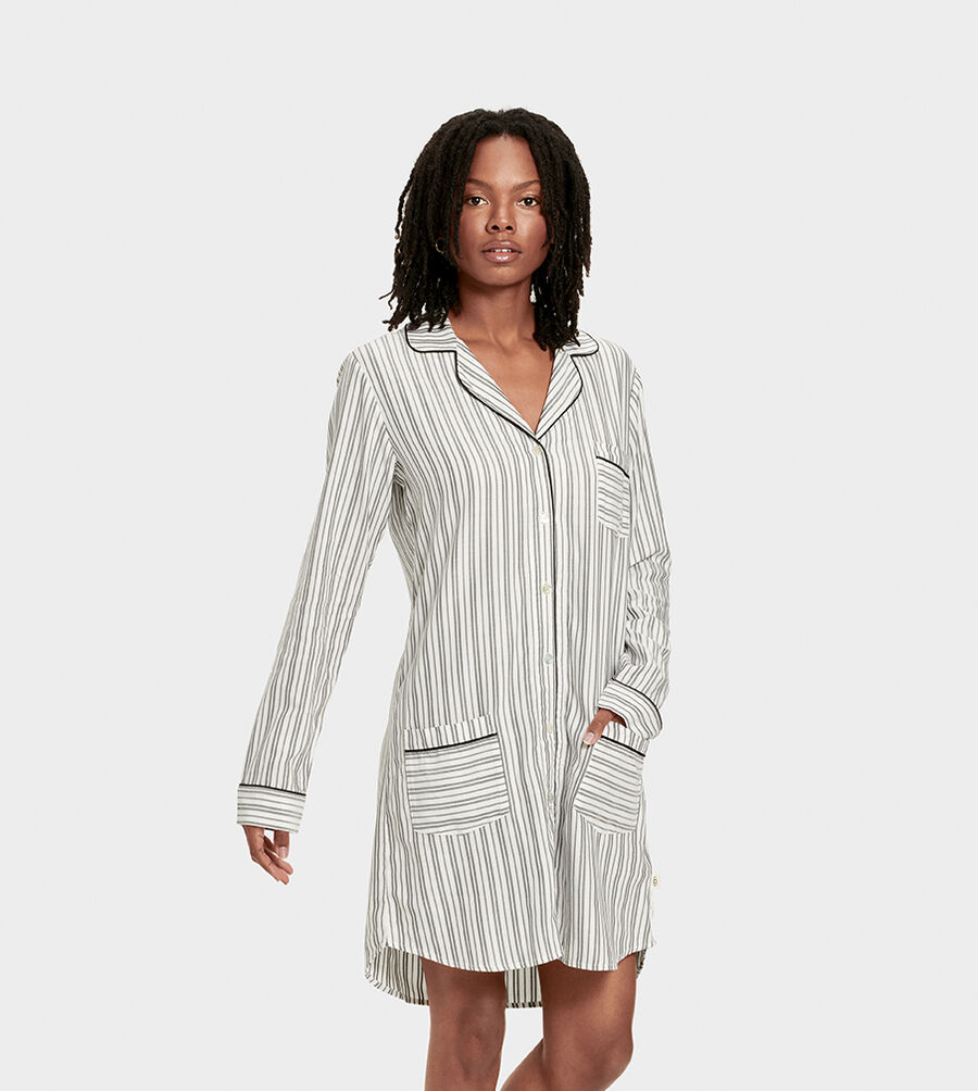 Laura Sleep Dress Stripe - Image 1 of 6