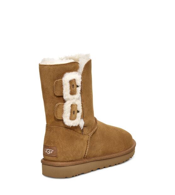 Bailey Fluff Buckle Boot