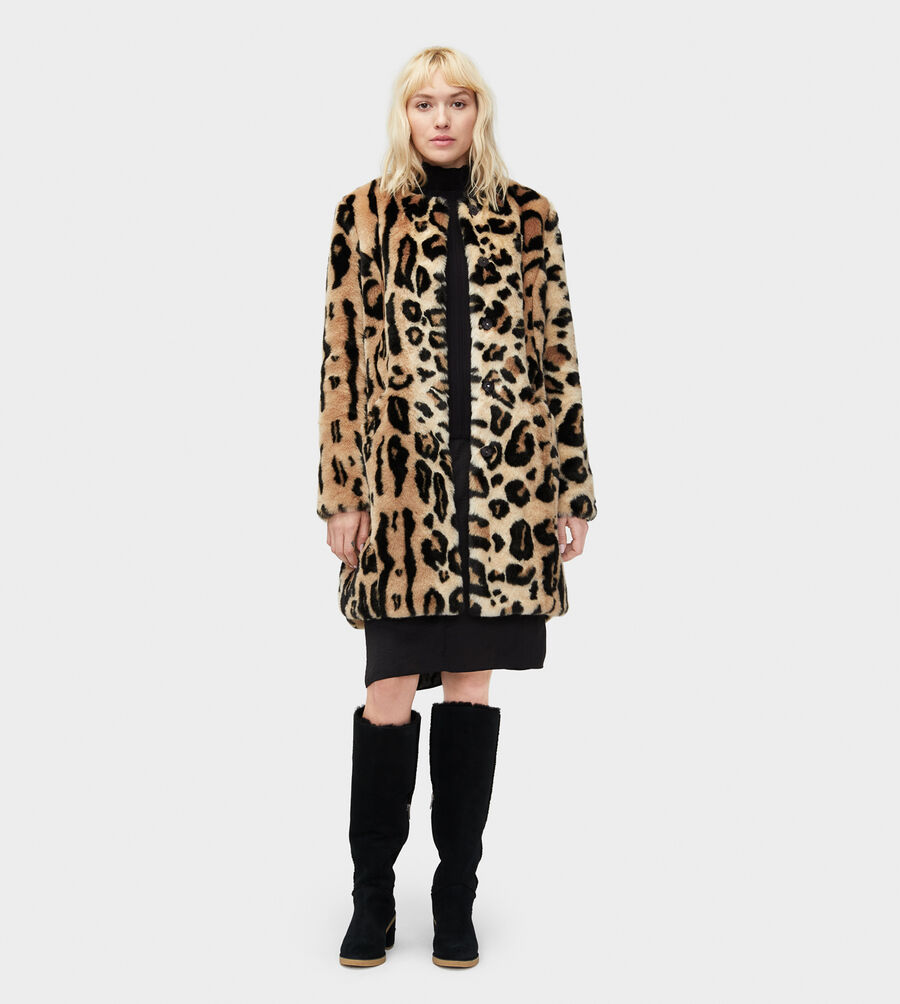 Lisabeth Faux Fur Coat - Image 3 of 3
