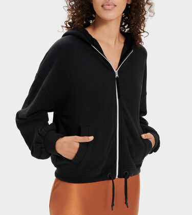 Abbi Half Moon Sleeve Hoodie Alternative View