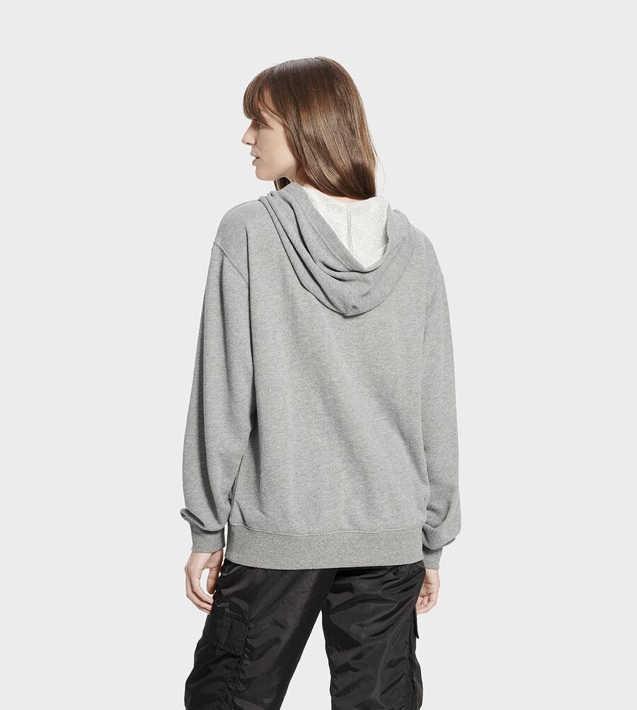 Fuzzy Logo Hoodie Sweatshirt - Image 2 of 6