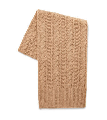 Kory Cable Knit Scarf