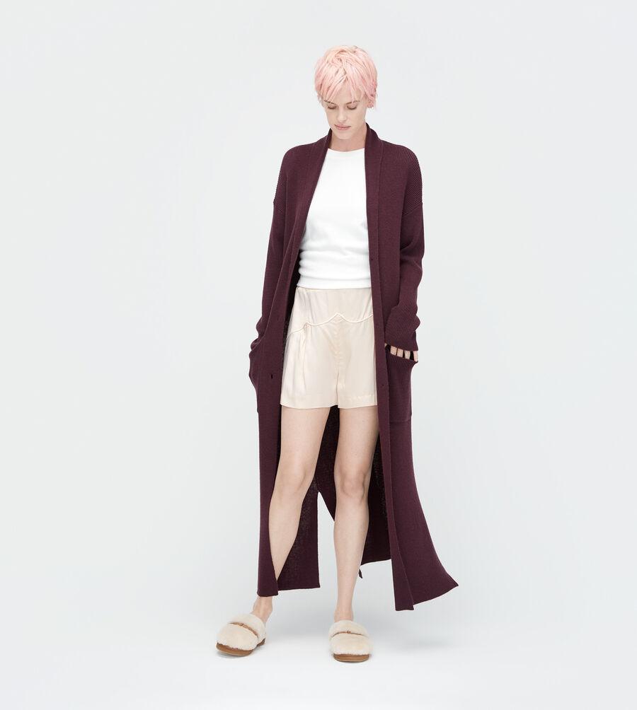 Wool Maxi Boyfriend Cardi - Image 1 of 3