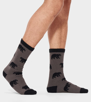 Clint Novelty Crew Sock