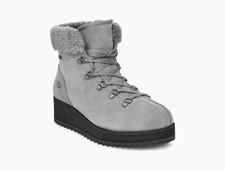 Birch Lace-Up Shearling - Image 2 of 6