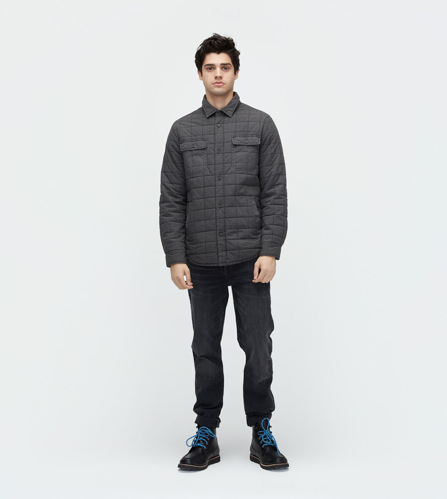 Trent Quilted Shirt Jacket - Image 2 of 3