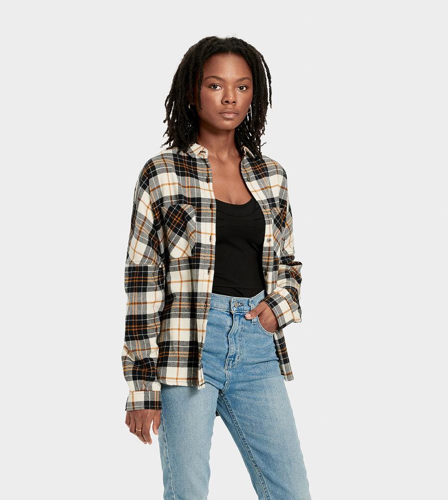 Deborah Flannel Shirt - Image 1 of 6