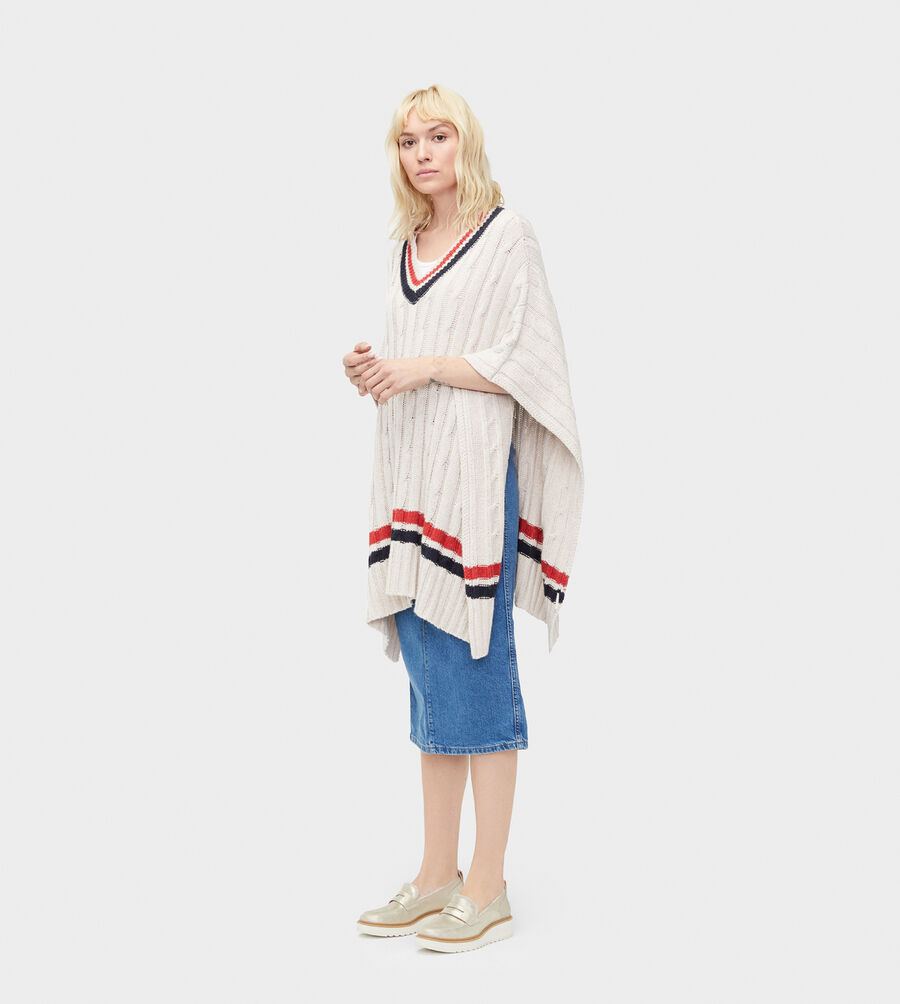 Weslynn Sweater Poncho - Image 1 of 4