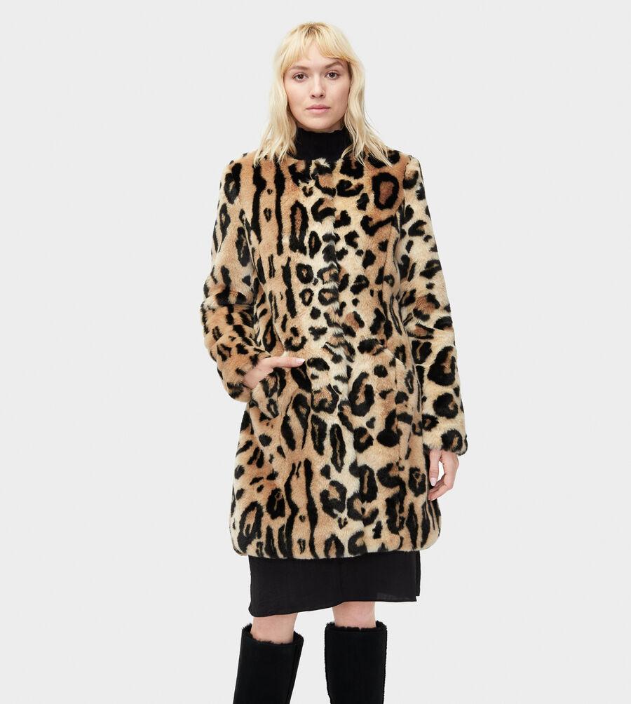 Lisabeth Faux Fur Coat - Image 1 of 3
