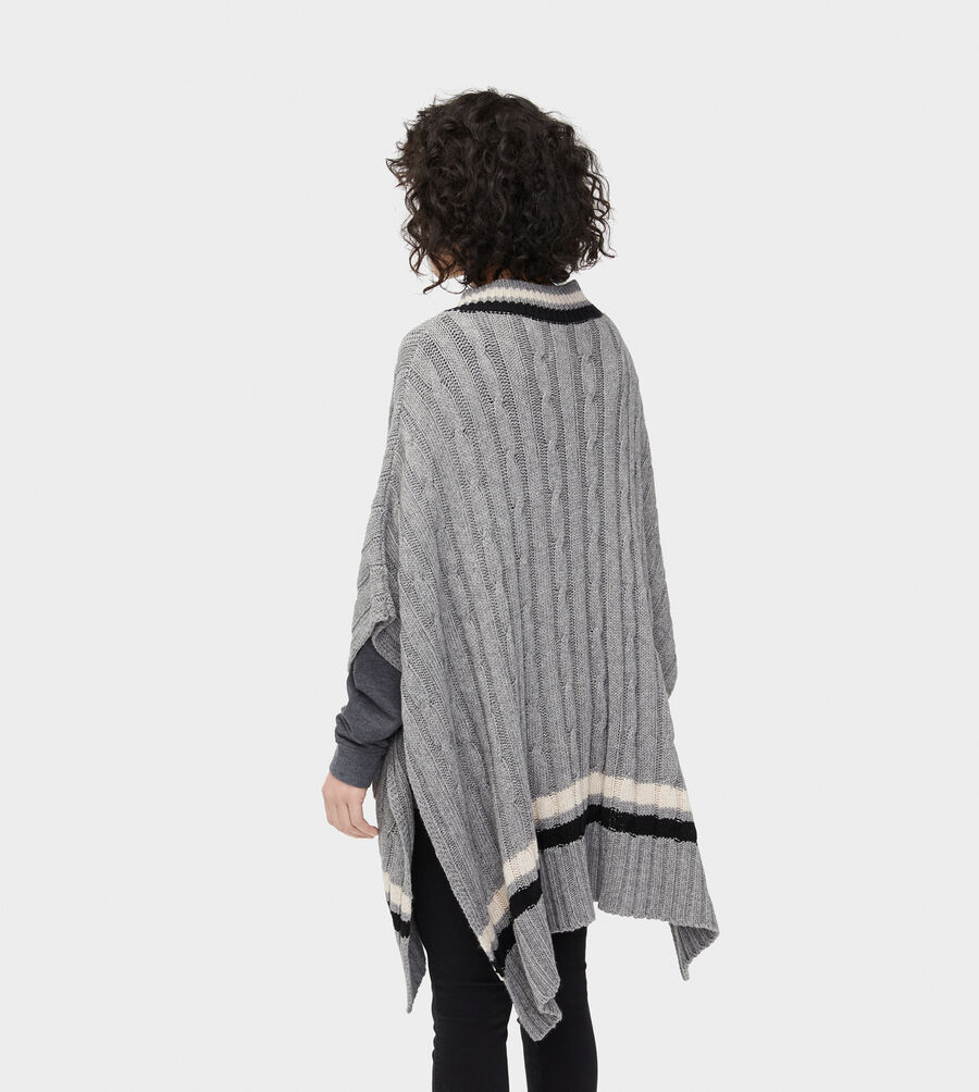 Weslynn Sweater Poncho - Image 5 of 5