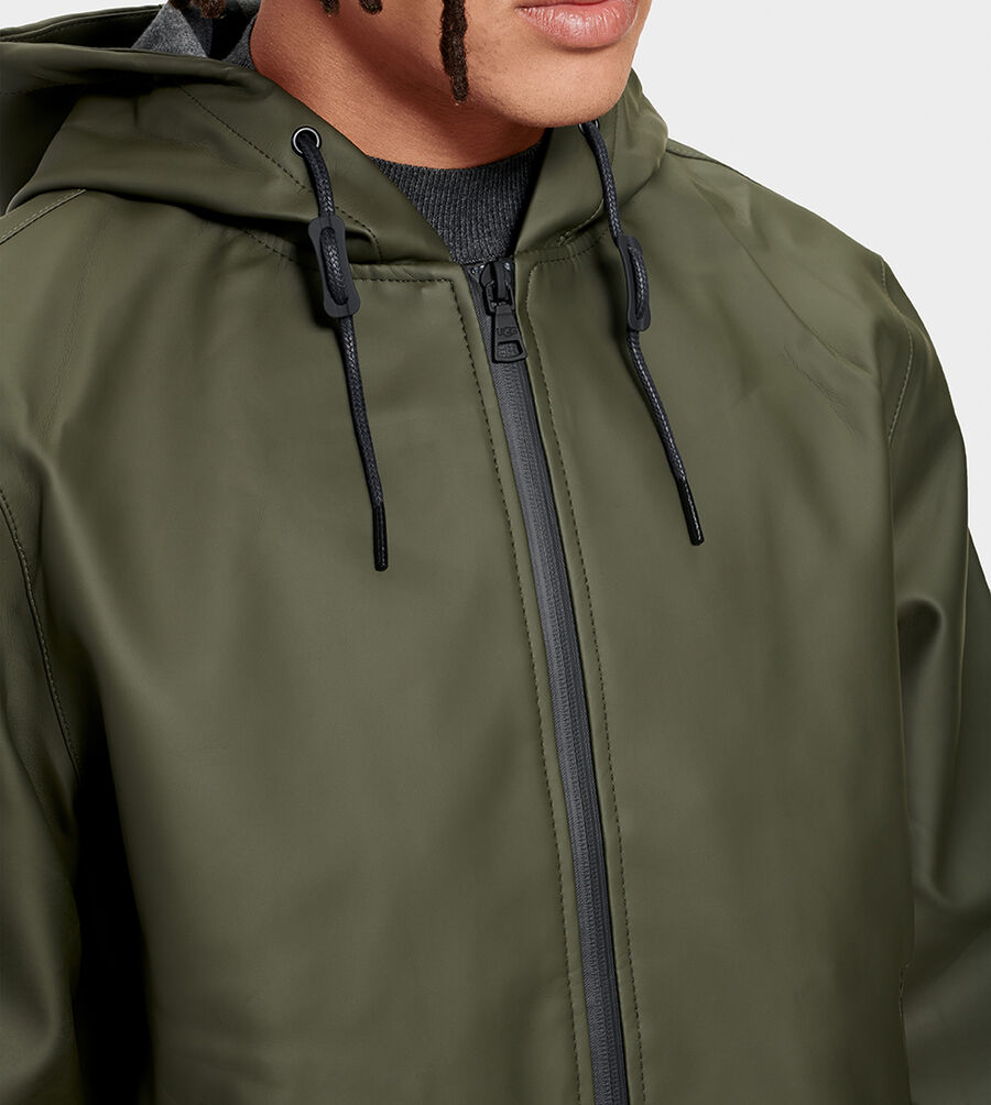 Diego Rubberized Hoodie - Image 4 of 6