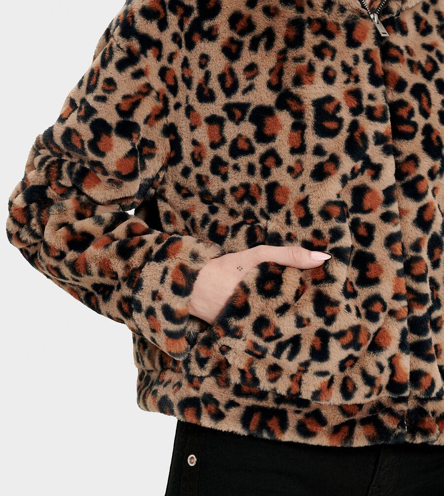 Mandy Faux Fur Hoodie - Image 4 of 7