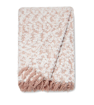 Amita Boucle-Knit Throw
