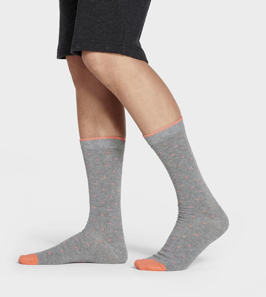 Mini Dot Crew Sock - Image 1 of 4