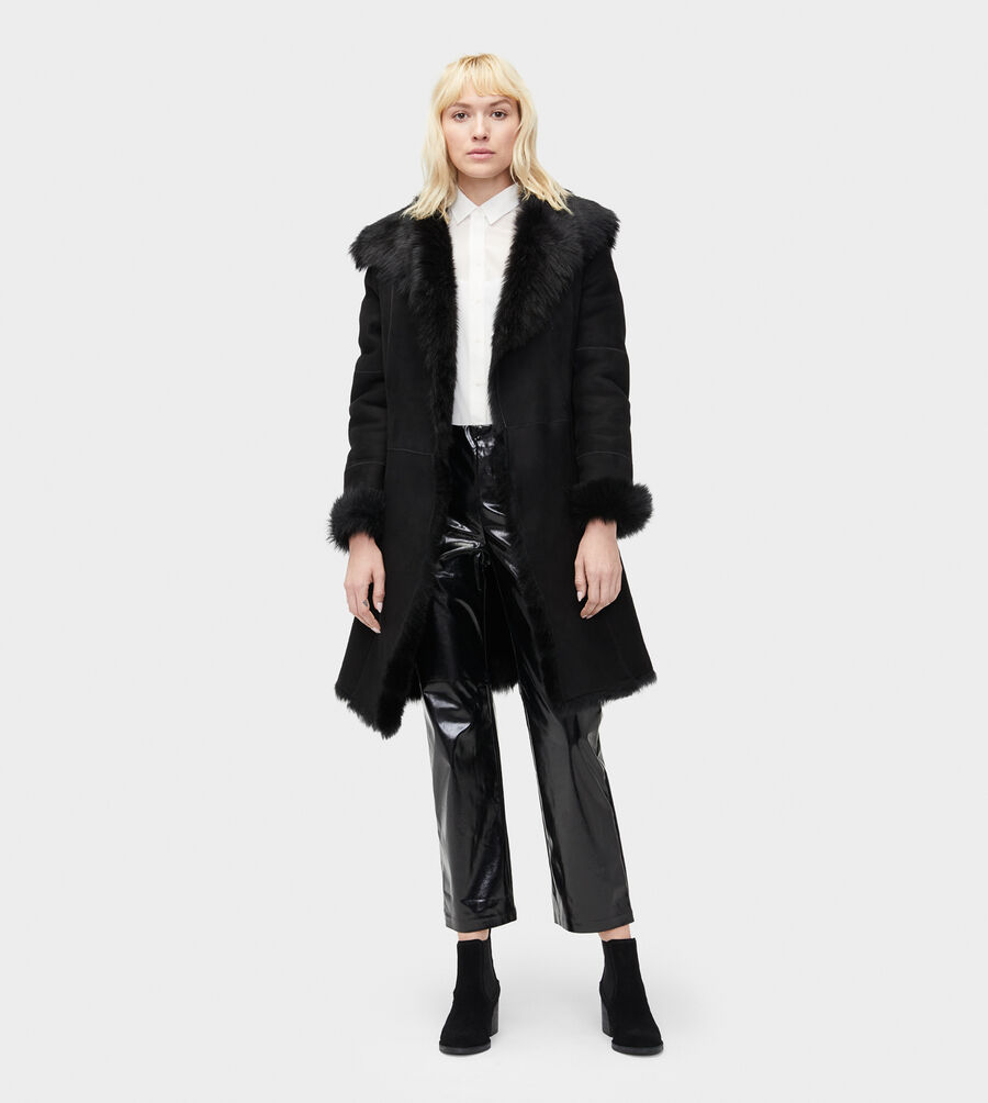 Vanesa Toscana Shearling Coat  - Image 4 of 6
