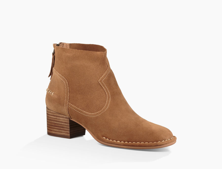 Bandara Ankle Boot Suede - Image 2 of 6