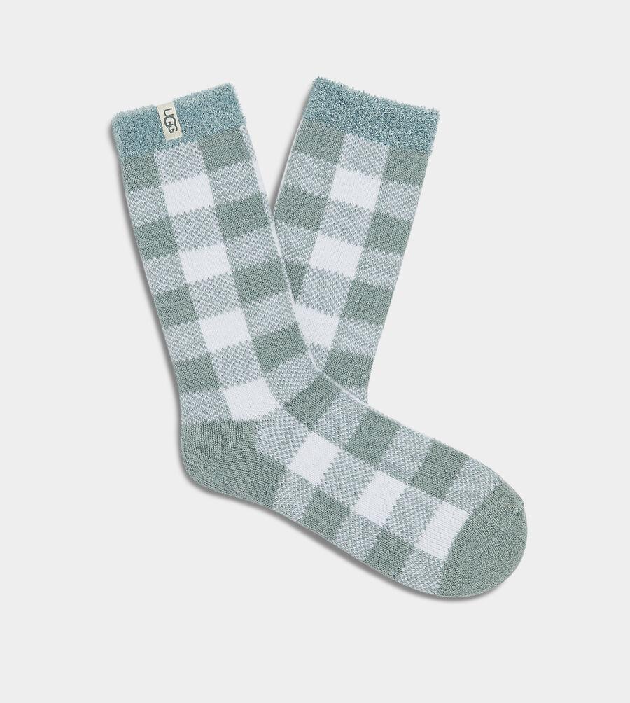 Vanna Check Fleece Lined Sock - Image 1 of 2
