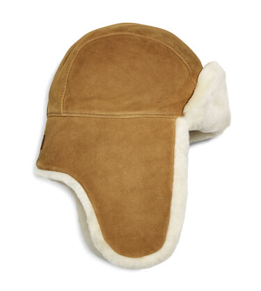 Sheepskin Trapper Hat
