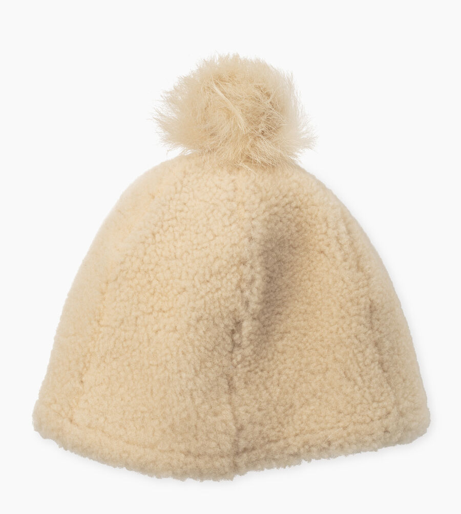 Exposed Curly Pile Beanie - Image 1 of 2