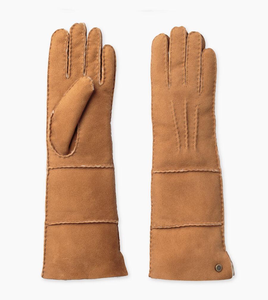 Sheepskin Long Pieced Slim Glove - Image 2 of 3