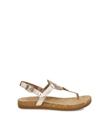 Ayden II Metallic Sandal