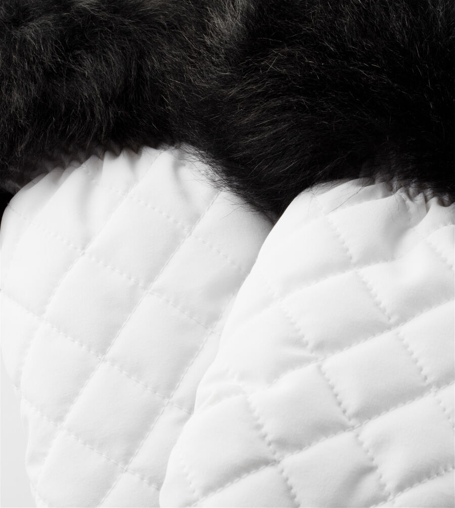 Quilted Nylon Smart Glove With Fur - Image 3 of 3
