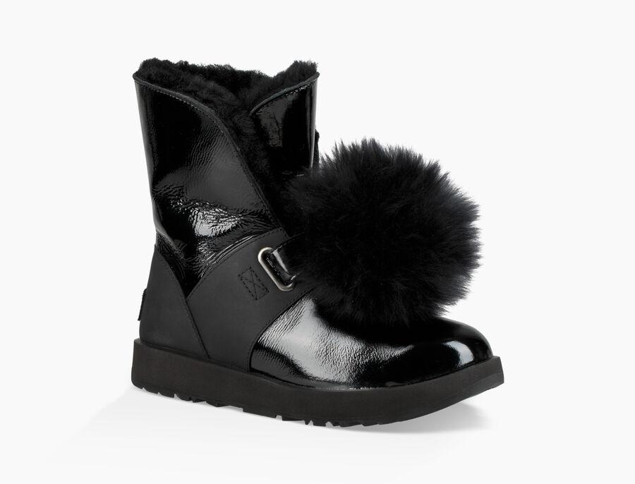 Isley Patent Waterproof Boot - Image 1 of 6