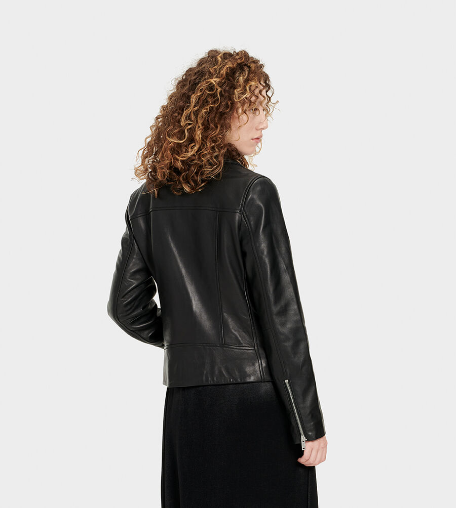 Alba Leather Jacket - Image 2 of 6