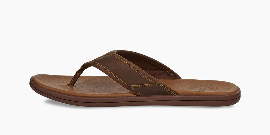 Seaside Leather Flip Flop - Image 3 of 6