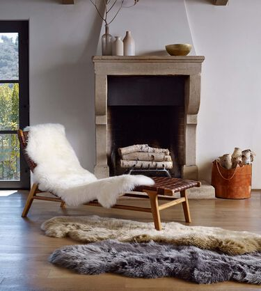 Sheepskin Area Rug - Double Alternative View