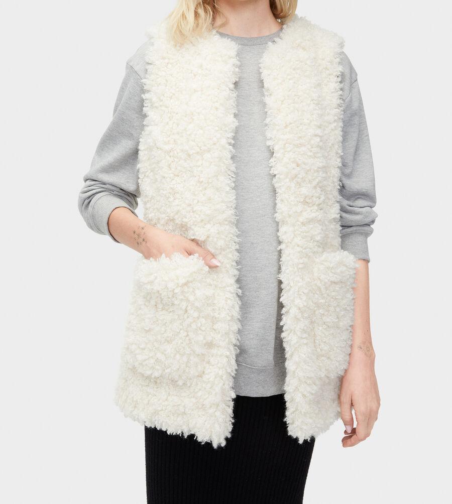 Farrah Faux Fur Vest - Image 4 of 4