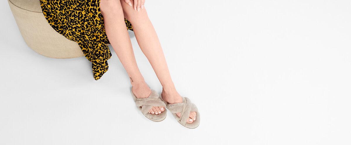 91be5aa3b77 Women s Abela Fluffy Flip Flop