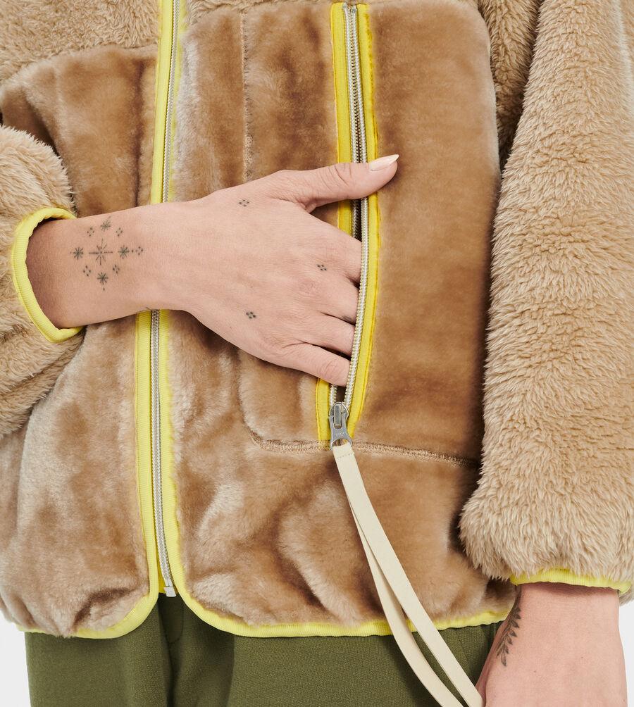 Marlene Sherpa Jacket - Image 3 of 4