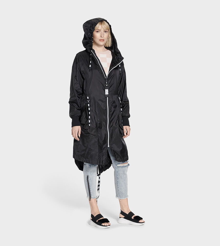 Carinna Hooded Anorak Jacket - Image 3 of 5